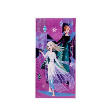 Disney 2021 Frozen 2 Queen Sisters Printed Towel  - Licensed Design