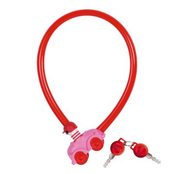ABUS  Cable: my first abus 550x4mm key - Pink