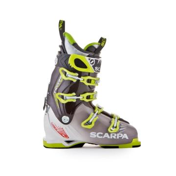 Scarpa Men's Freedom Ski Boots 2015 - Gray/Lime