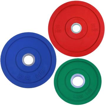 Garage Gym Solid Rubber Plate
