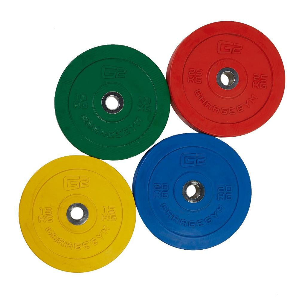 Olympic Bumper Plate - 20mm Thick Central Ring