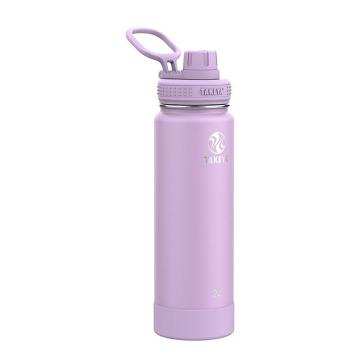 Takeya Stainless Steel Drink Bottle 710ml - Lilac
