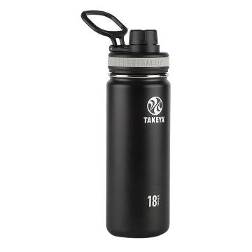 Takeya Insulated Stainless Steel Drink Bottle - 530ml - Black