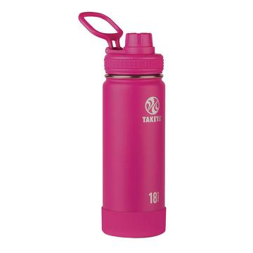 Takeya Stainless Steel Drink Bottle - 530ml - Fuchsia