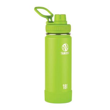 Takeya Stainless Steel Drink Bottle - 530ml - Lime