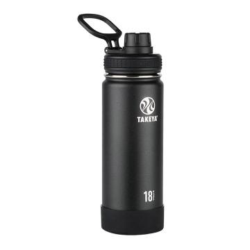 Takeya Stainless Steel Drink Bottle - 530ml - Onyx Black