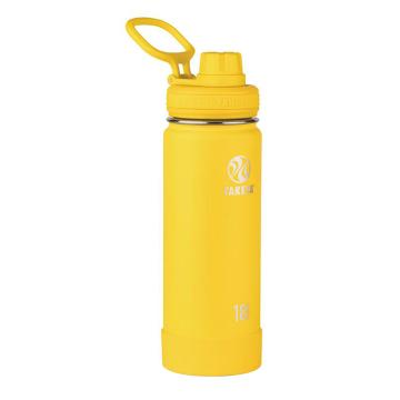 Takeya Stainless Steel Drink Bottle - 530ml - Solar Yellow