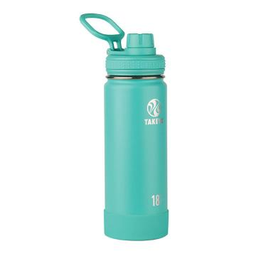Takeya Stainless Steel Drink Bottle - 530ml - Teal
