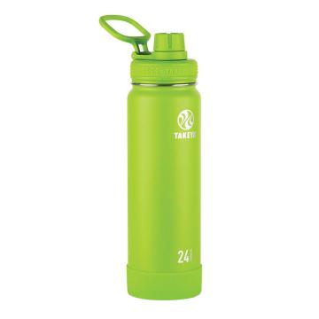 Takeya Stainless Steel Drink Bottle - 710ml - Lime
