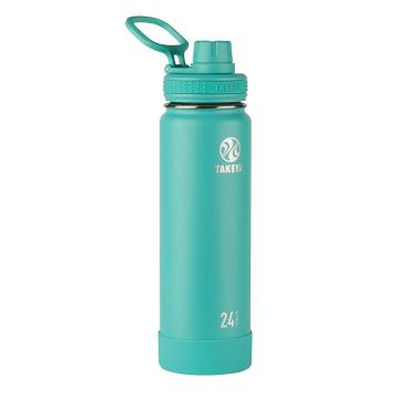 Takeya Stainless Steel Drink Bottle - 710ml - Teal