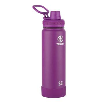 Takeya Stainless Steel Drink Bottle - 710ml - Violet