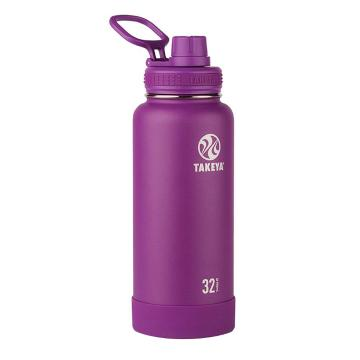 Takeya Stainless Steel Drink Bottle - 950ml - Violet