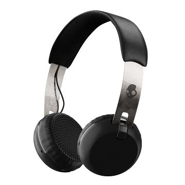 Skullcandy Skull Candy Grind Wireless Black Head phones