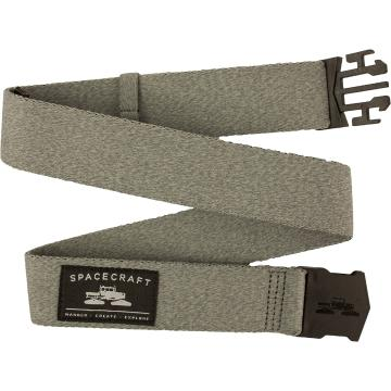Spacecraft Men's Pilchuck Belt - Charcoal - Charcoal