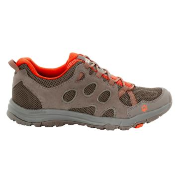 Jack Wolfskin Men's Rocksand Chill Low Shoes - Coconut Brown