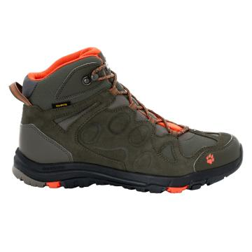 Jack Wolfskin Men's Rocksand Mid Hiking Boots - Coconut Brown