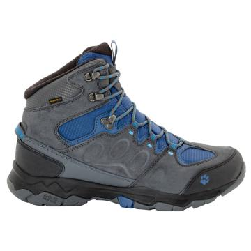 Jack Wolfskin Men's Mountain Attack 5 Texapore Mid Hiking Boots - Ocean Wave