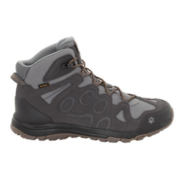 Jack Wolfskin Men's Rocksand Texapore Mid Hiking Boots - Phantom