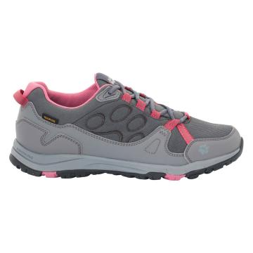 Jack Wolfskin Women's Activate Texapore Low Hiking Shoes - Rosewood