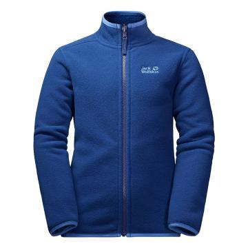 Jack Wolfskin Boy's Arctic Wolf Fleece Jacket - Royale Blue