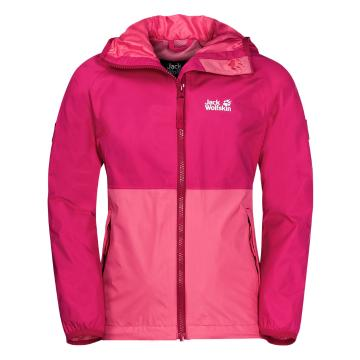 Jack Wolfskin Girl's Rainy Days Jacket