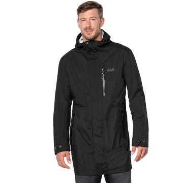 Jack Wolfskin Mens Crosstown Raincoat