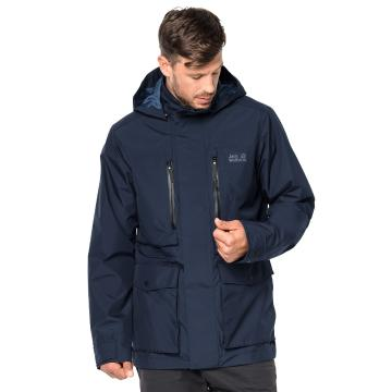 Jack Wolfskin Men's Bridgeport Jacket - Night Blue