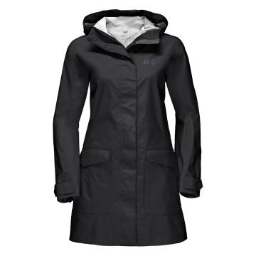 Jack Wolfskin Women's Crosstown Rain Jacket