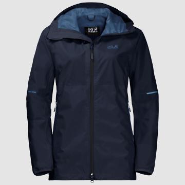 Jack Wolfskin Women's Sierra Pass Jacket - Midnight Blue