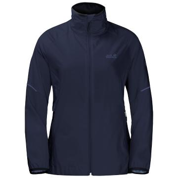 Jack Wolfskin Women's Flyweight Trail Jacket - Midnight Blue