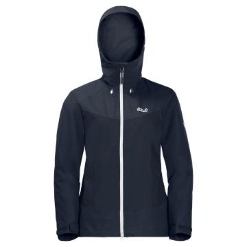 Jack Wolfskin Women's North Ridge Jacket - Night Blue