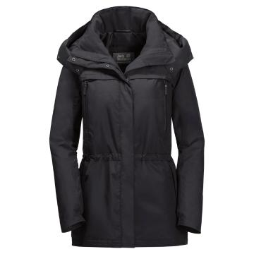 Jack Wolfskin Women's Fairway Jacket - Black
