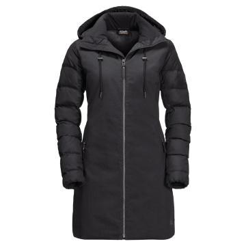 Jack Wolfskin Women's Temple Hill Coat - Black