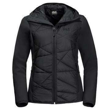 Jack Wolfskin Women's Grassland Hybrid Hard Softshell Jacket