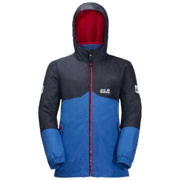 Jack Wolfskin Youth Iceland 3In1 Jkt - Coastal Blue