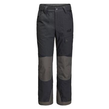 Jack Wolfskin Kid's Rugged Pants - Phantom