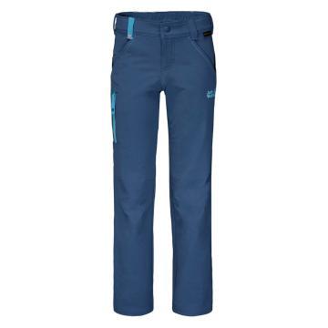 Jack Wolfskin Kid's Activate Pants - Navy Blue