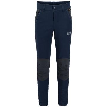 Jack Wolfskin Girl's Activate Dynamic Pants - Midnight Blue