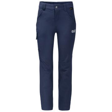 Jack Wolfskin Youth Activate Pants - Navy Blue