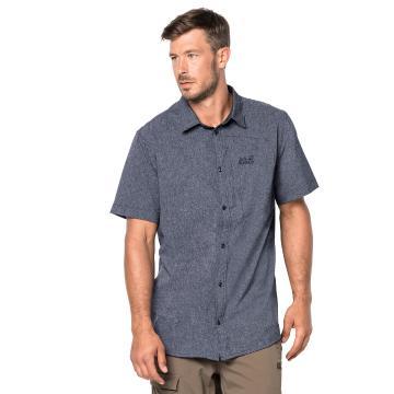 Jack Wolfskin Mens Barrel Shirt - Pebble Grey