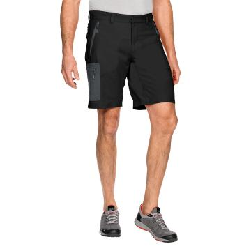 Jack Wolfskin Mens Active Track Shorts - Black