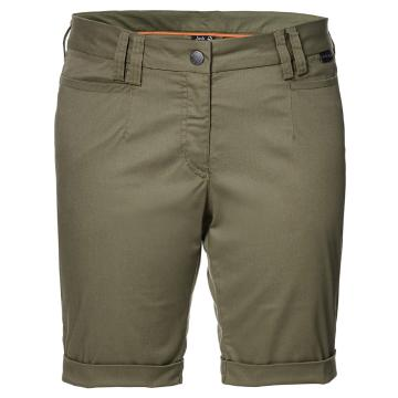 Jack Wolfskin Women's Liberty Shorts - Burnt Orange