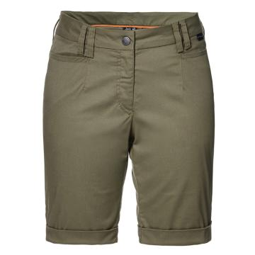 Jack Wolfskin Women's Liberty Shorts - Burnt Olive