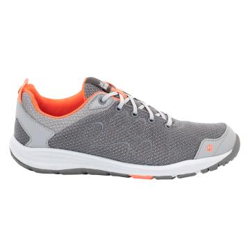 Jack Wolfskin Women's Portland Cruise Low Shoes - Papaya