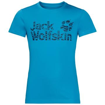 Jack Wolfskin Kid's Jungle Tee - Turquoise