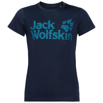 Jack Wolfskin Kid's Jungle Tee - Night Blue