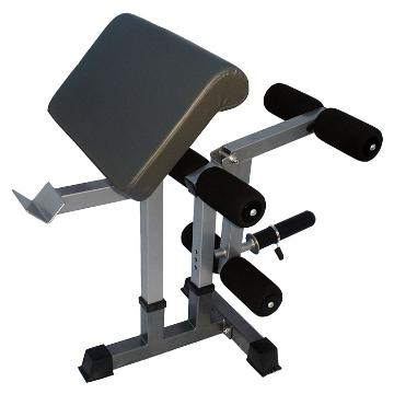 Iron Power Leg Developer & Preacher Curl Attach (04084)