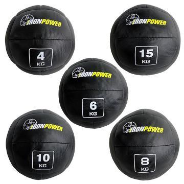 Iron Power Black Medicine Ball