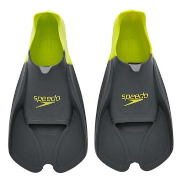 Speedo Biofuse Fin - Oxide Grey/Lime Punch