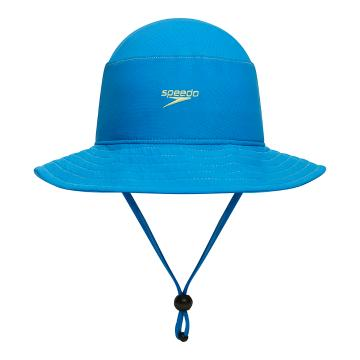 Speedo 2021 Youth Bucket Hat - Blue - Blue